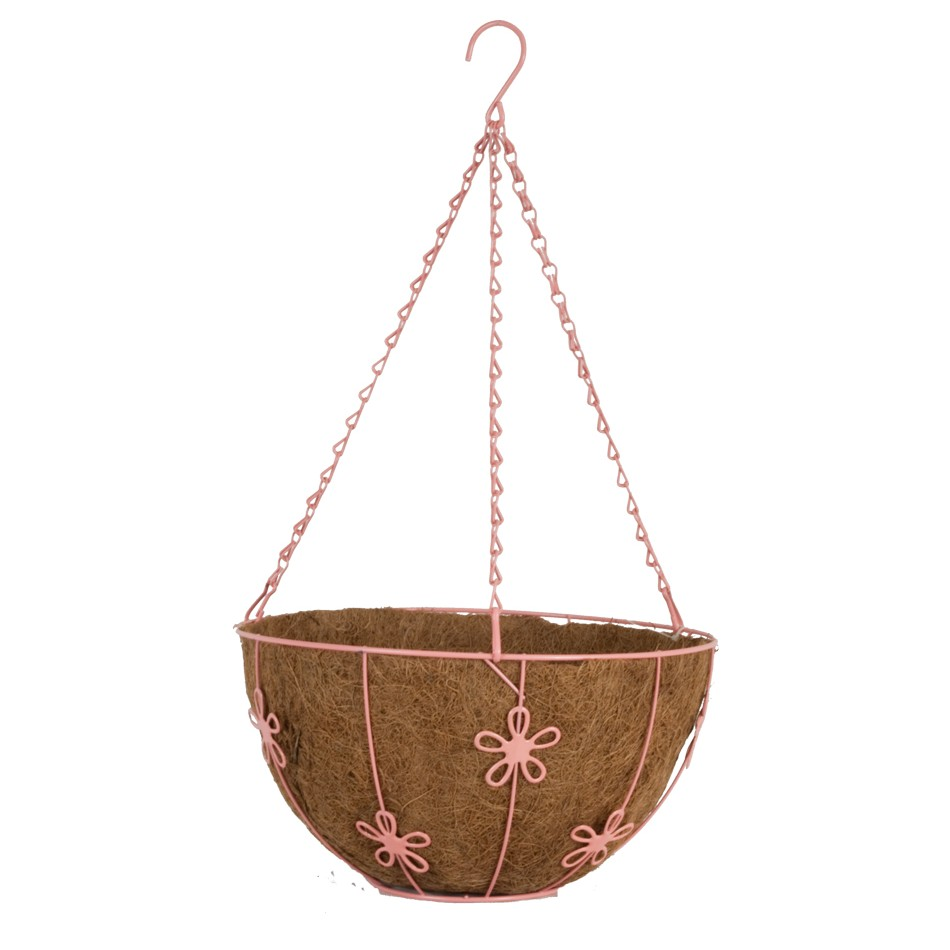 12 Quot Round Daisy Hanging Basket Pride Garden Products
