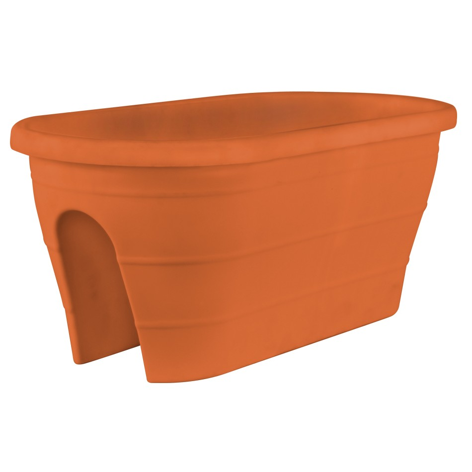 Sand Rail Baskets : Quot mela trough rail planter pride garden products