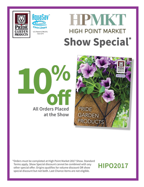Merveilleux Pride Garden Products Is Headed To The High Point Market And Weu0027re Bring  Our New Innovations In Container Gardening! Come See Our New Additions To  Our ...