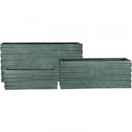 Grovsa Rectangle Planter Set Of 3 Pride Garden Products